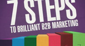 7 Steps to Brilliant B2B Marketing [Part 1]