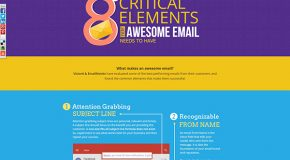 8 Critical Elements for Awesome Emails