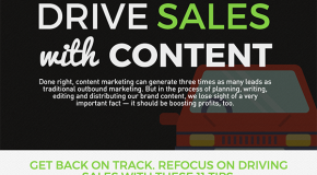 Interesting Infographics: 11 Ways to Drive Sales With Content Marketing